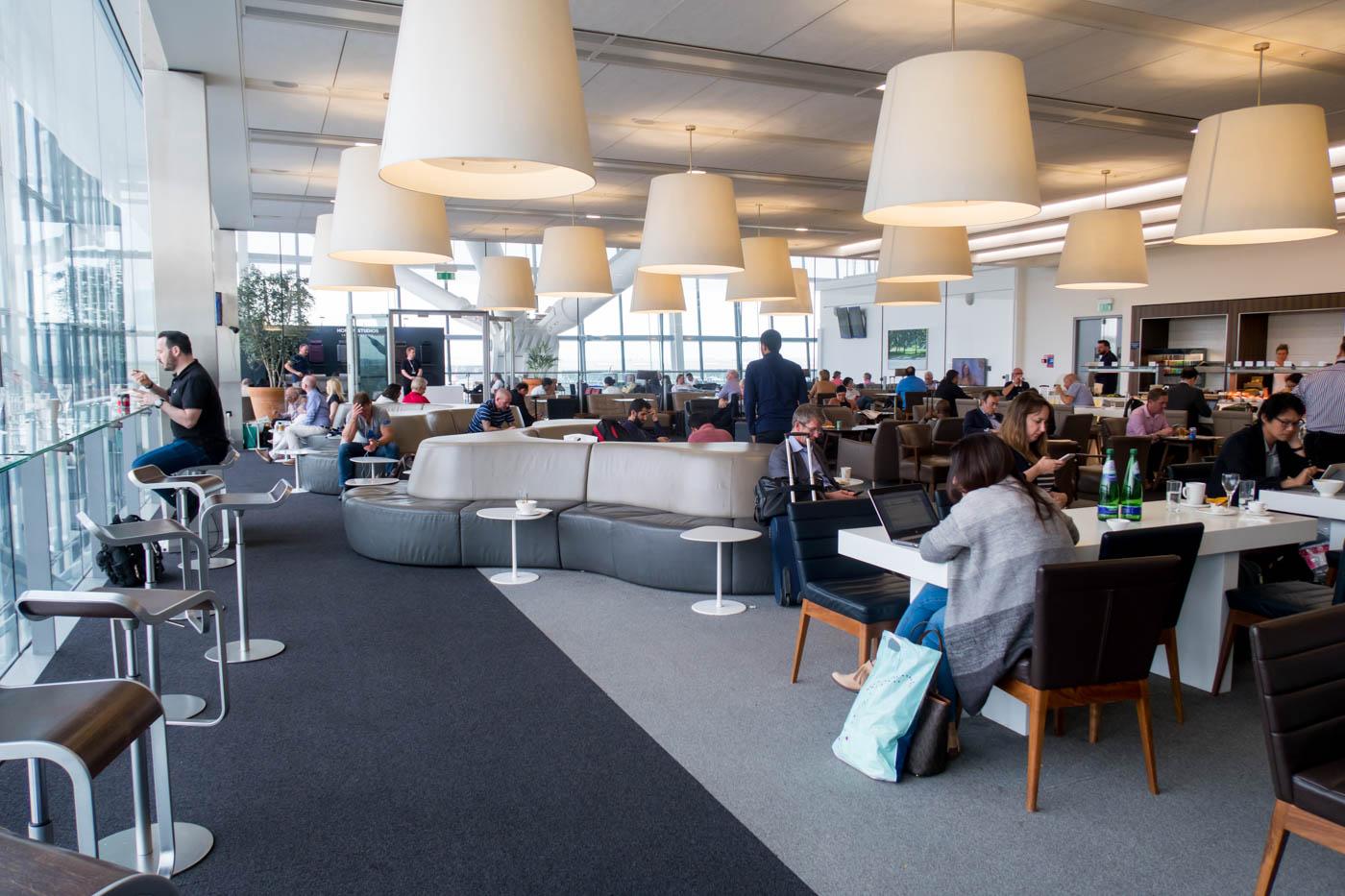 British Airways Galleries Lounge North Dining Area