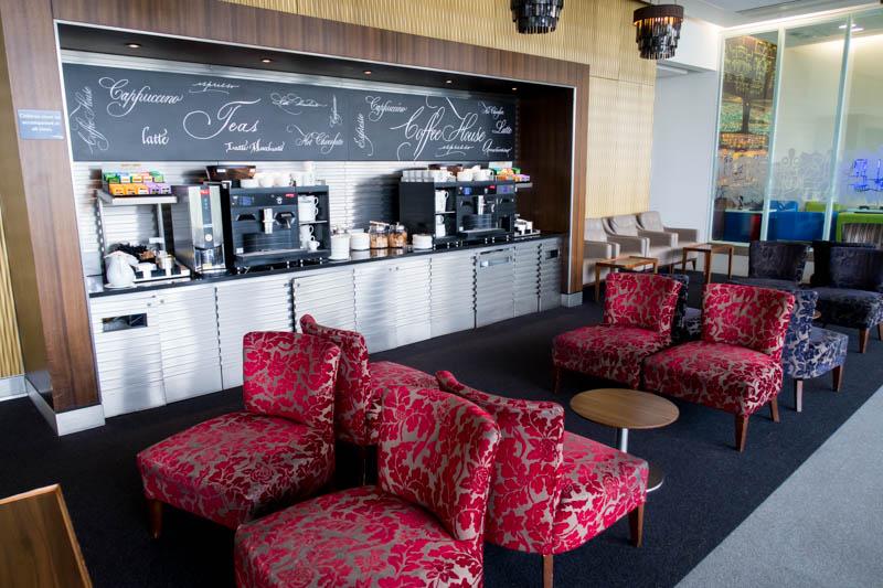 British Airways Galleries Lounge North Coffee