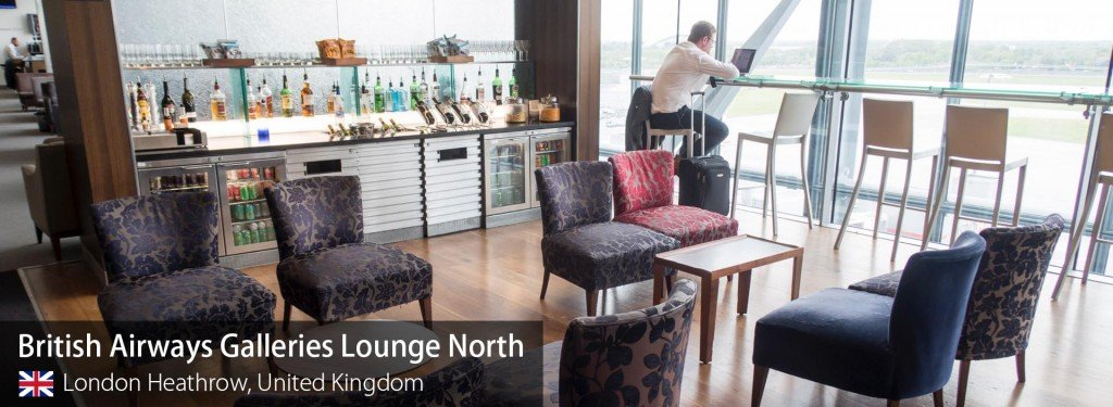 Lounge Review: British Airways Galleries Business Class Lounge North at London Heathrow