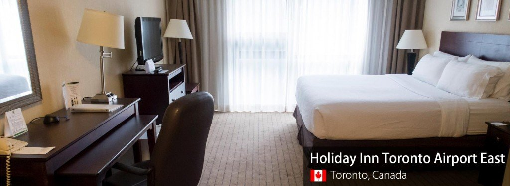 Airport Hotel Review: Holiday Inn Toronto Airport East