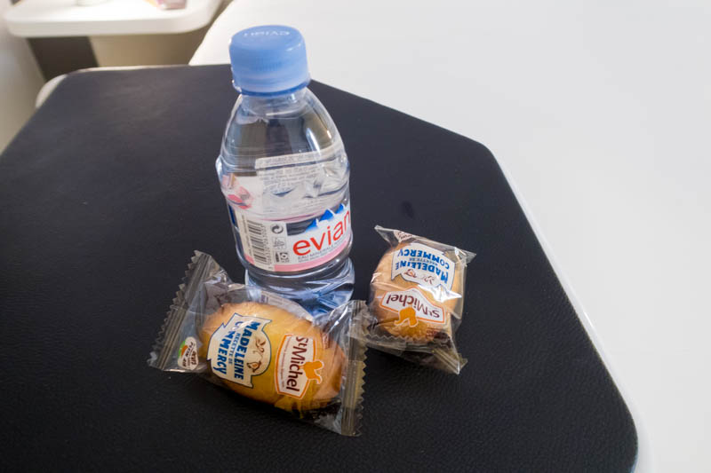 Snacks and Water