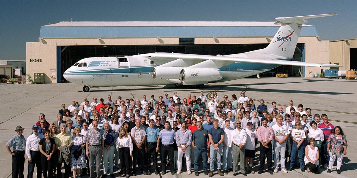 Kuiper Airborne Observatory Retires 1995