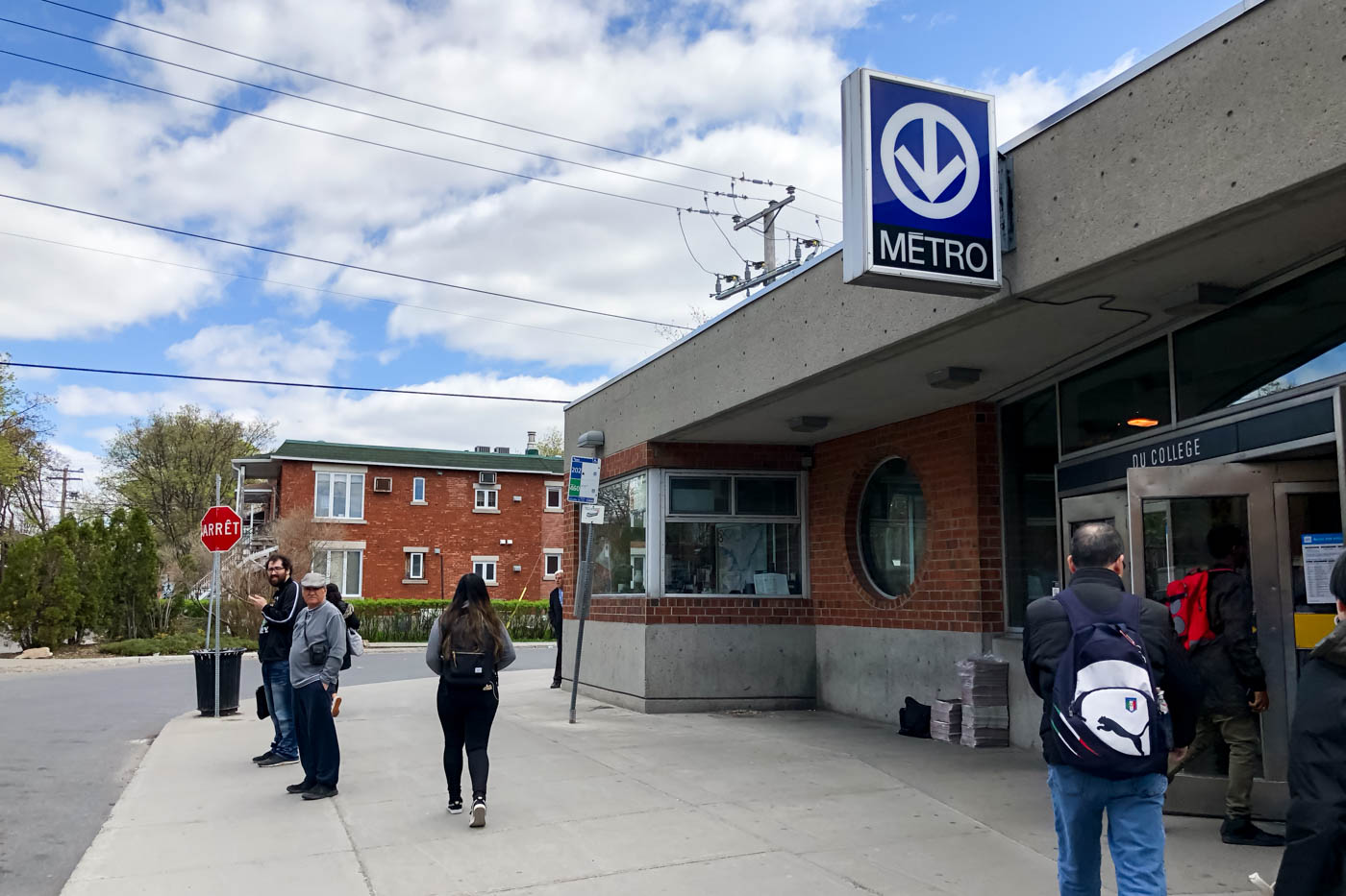 Du College Metro Station