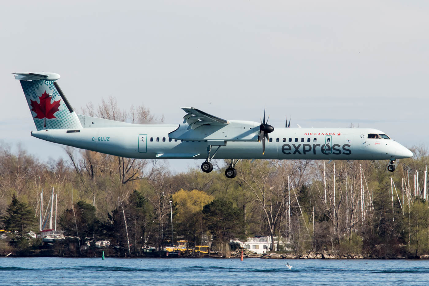 Air Canada Express Dash 8 Q400 at Billy Bishop Toronto City Airport