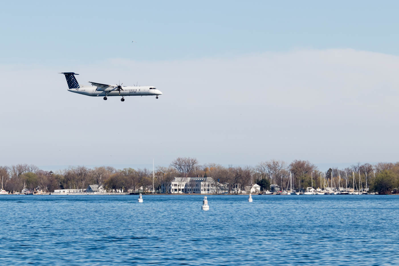 Porter Airlines at Billy Bishop Airport