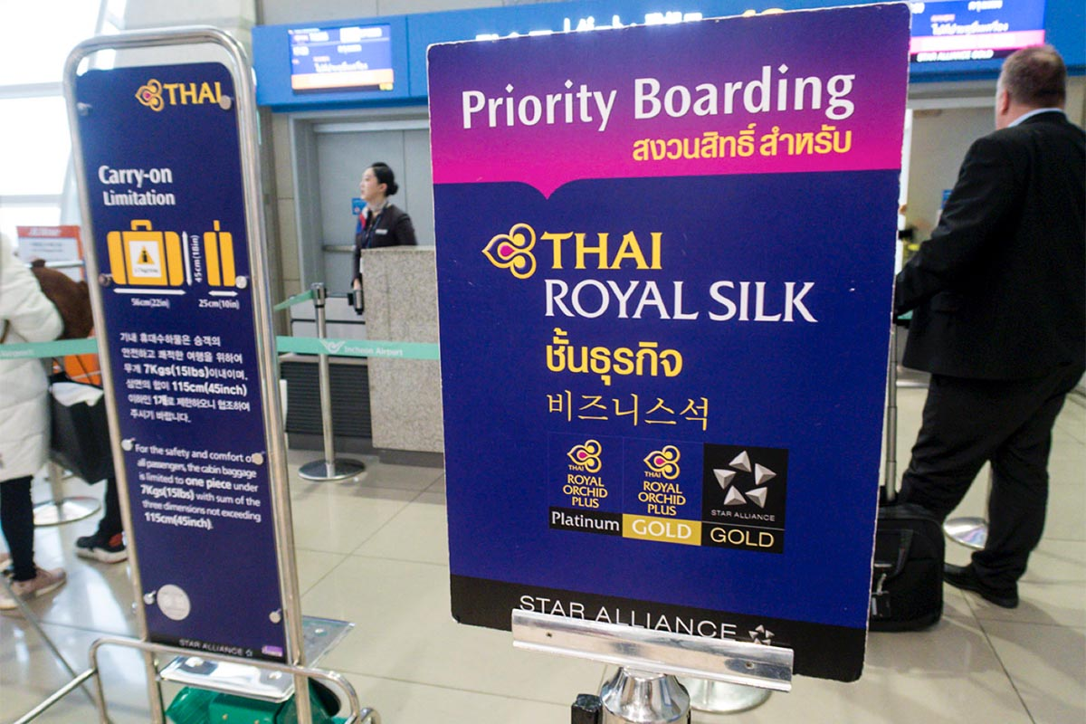 Priority Boarding Queue