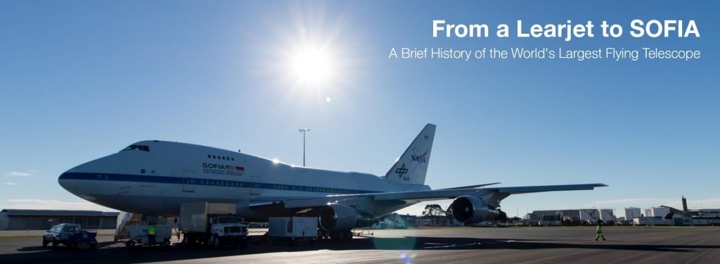 From a Learjet to SOFIA: A Brief History of the World's Largest Flying Telescope