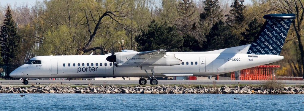 Spotting Guide: An Afternoon at Billy Bishop Toronto City Airport
