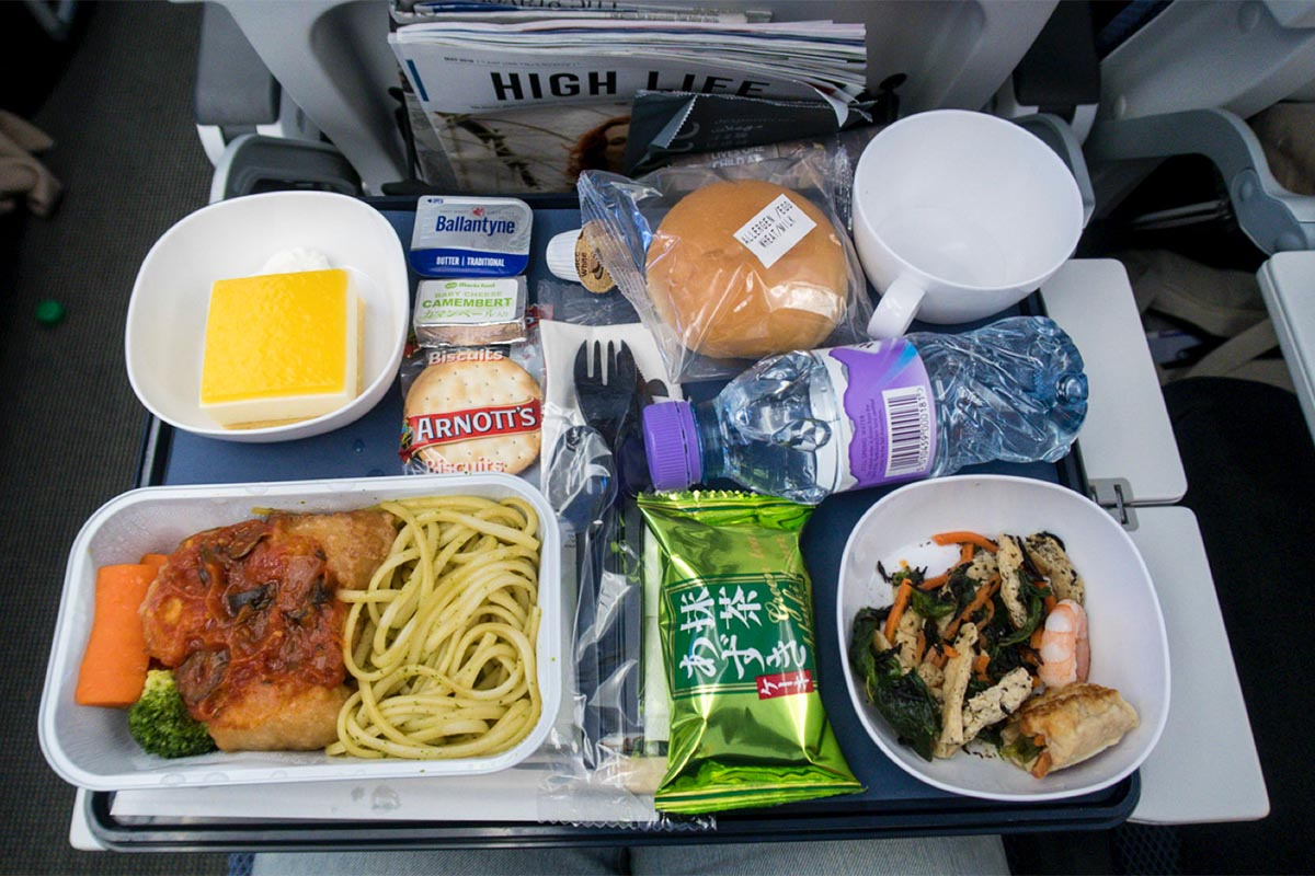 Economy Class Meal