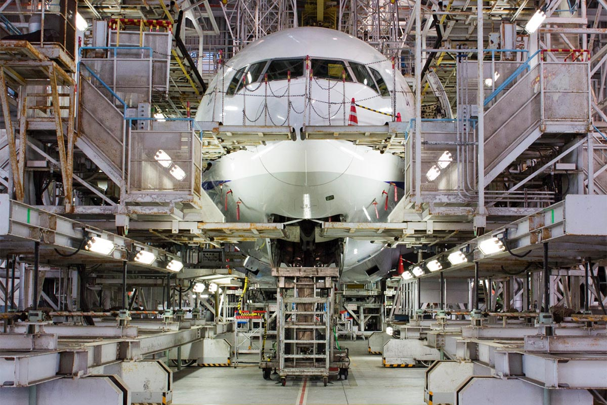 Japan Airline Hangar Tour