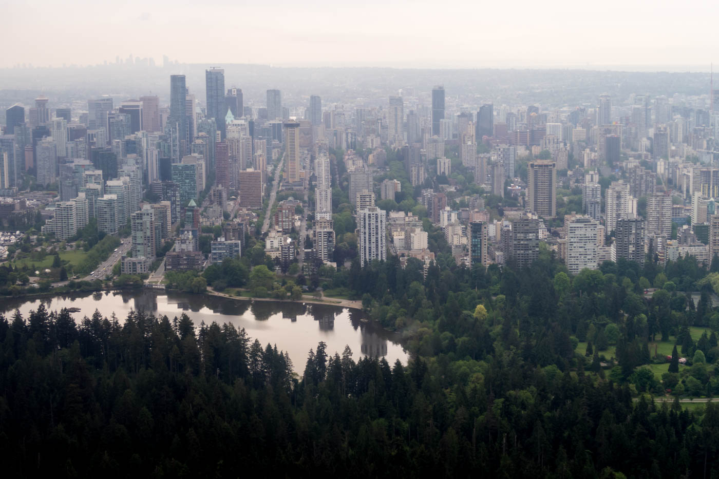 Stanley Park and Vancouver
