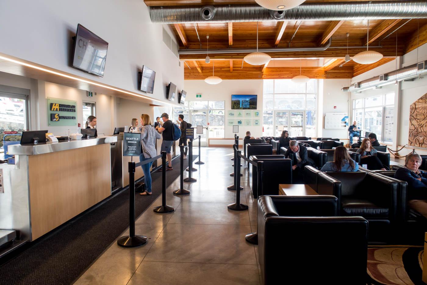 Victoria Harbour Airport Interior
