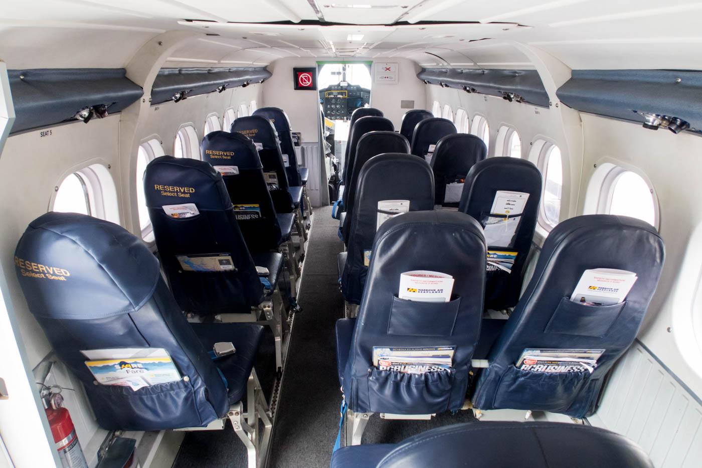 Harbour Air de Havilland Canada DHC-6 Twin Otter Cabin