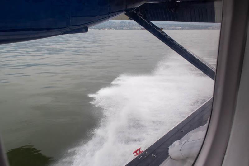 Landing in Vancouver Harbour
