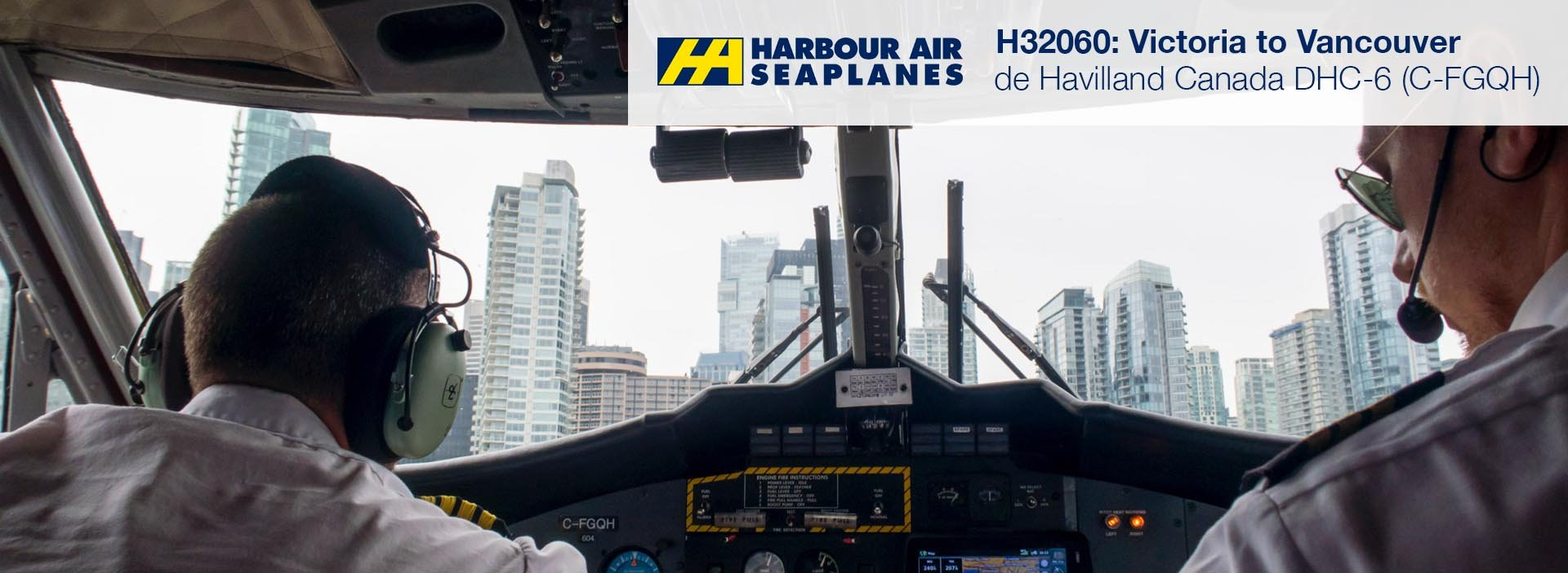 Flight Review: Harbour Air DHC-6 Twin Otter from Victoria Harbour to Vancouver Harbour