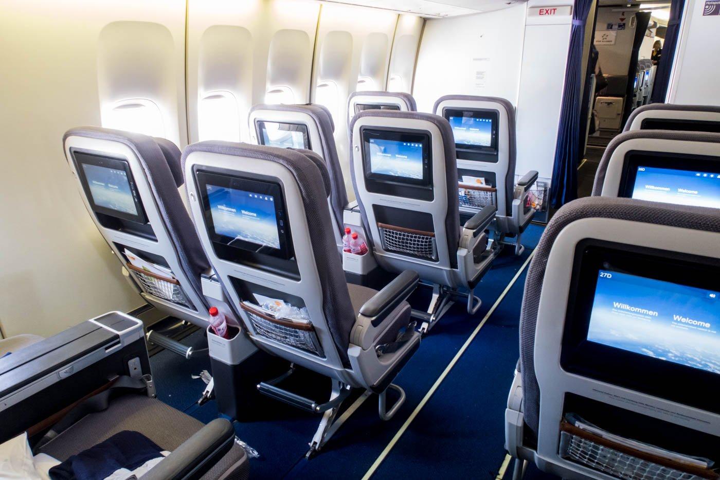 Lufthansa Premium Economy Class Cabin