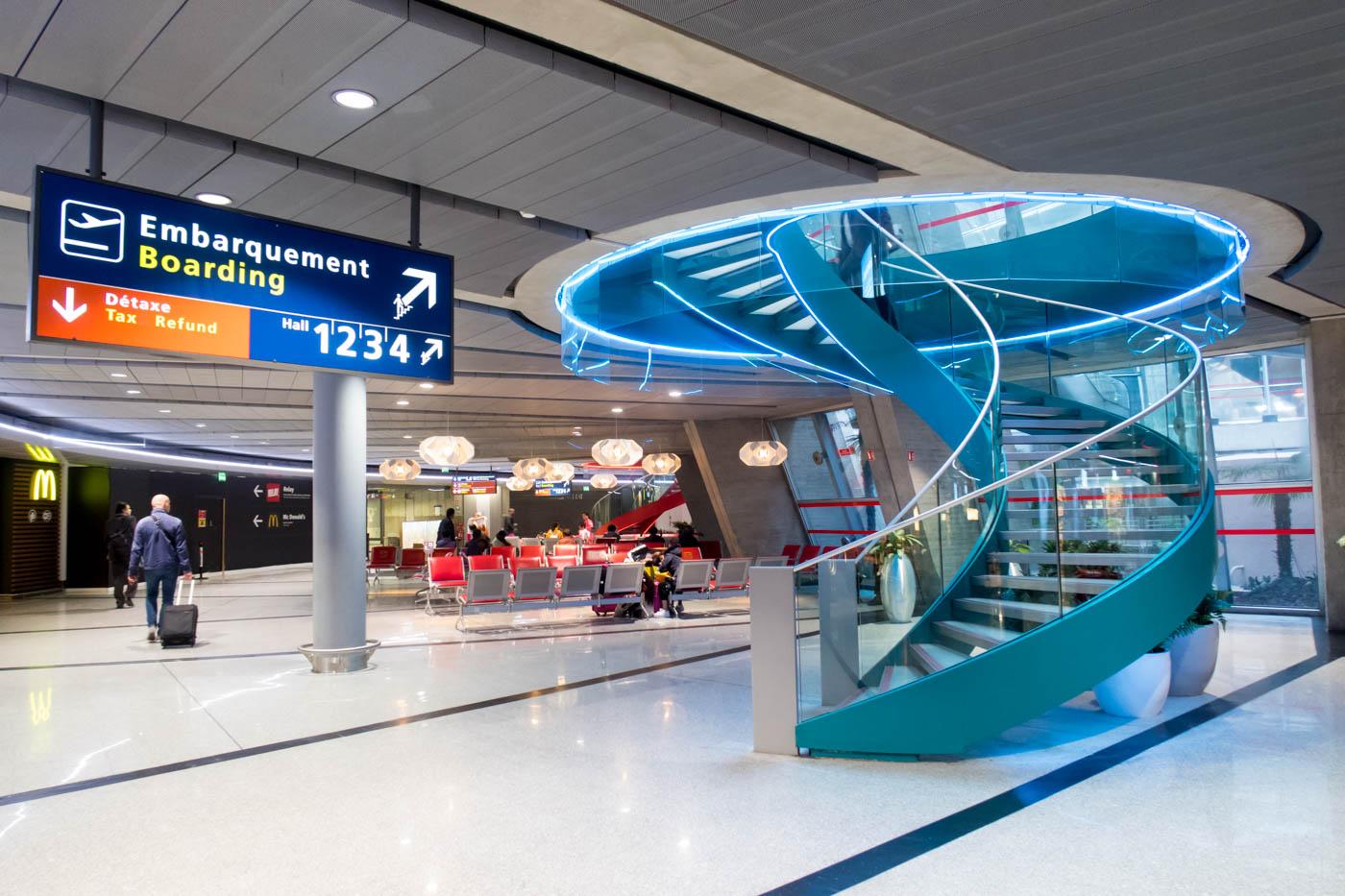 Paris Charles de Gaulle Airport Terminal 1 Interior