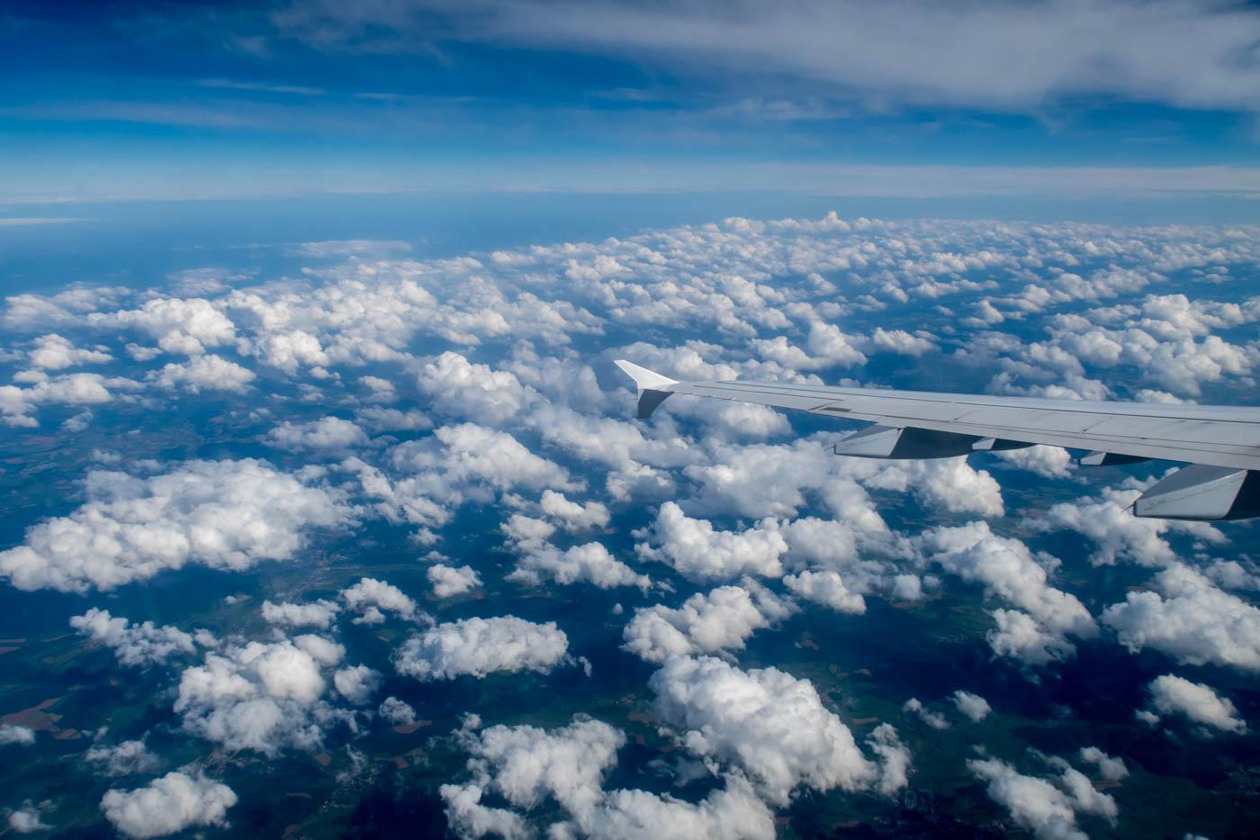 Descending Towards Frankfurt