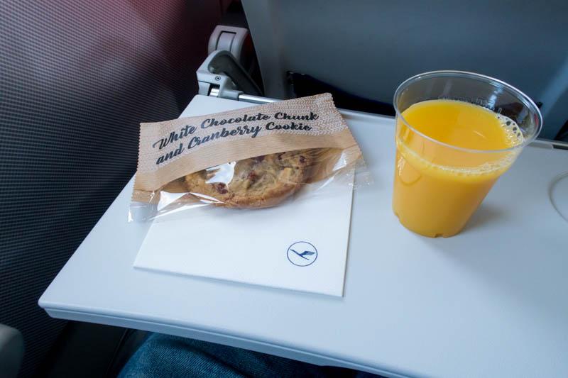 Lufthansa Intra-European Economy Class Service