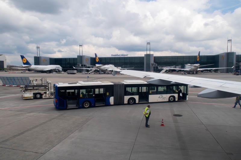Frankfurt Airport Remote Spot