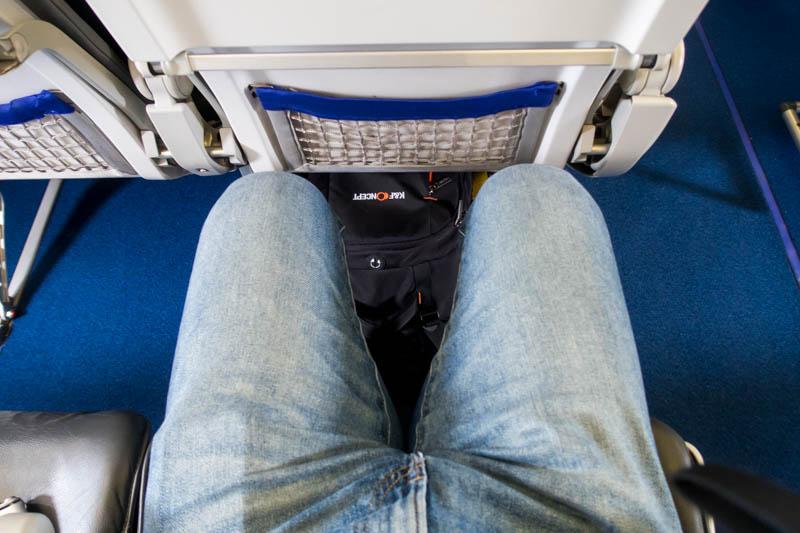 Lufthansa A321 Leg Room