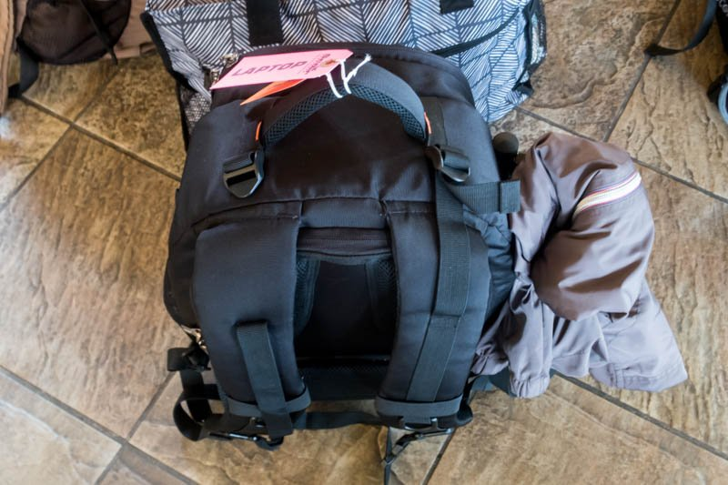 Bag with Laptop Tag
