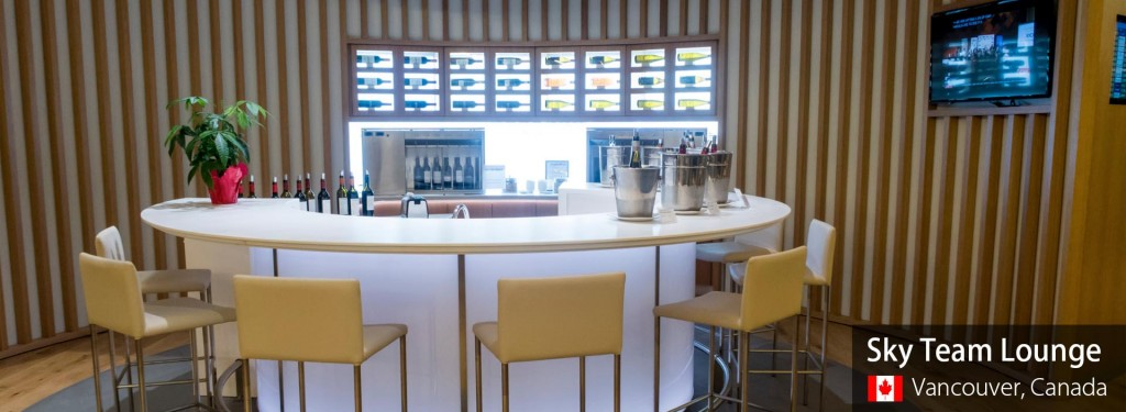 Lounge Review: Sky Team Lounge at Vancouver International