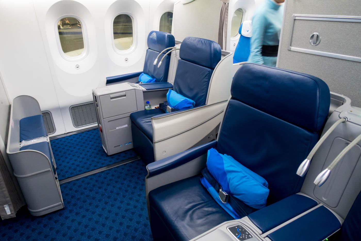 Xiamen Air Boeing 787-8 Business Class Seats