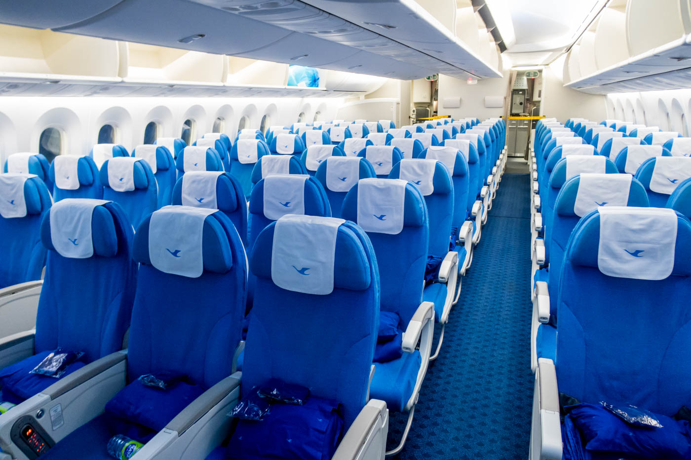 Xiamen Air Boeing 787-8 Economy Class Cabin