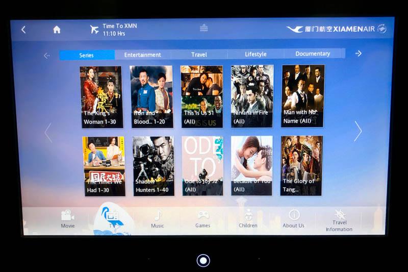 Xiamen Air TV Shows