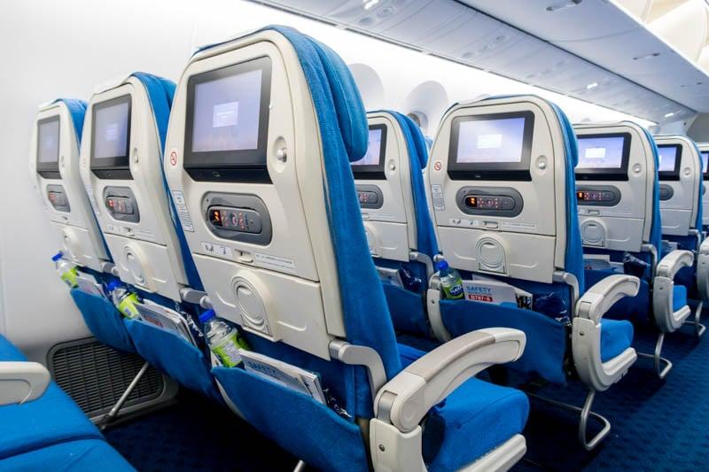 Xiamen Air 787-8 Economy Class Seats