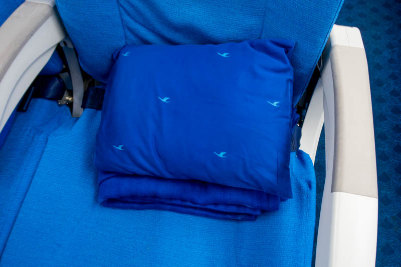 Xiamen Air Blanket and Pillow