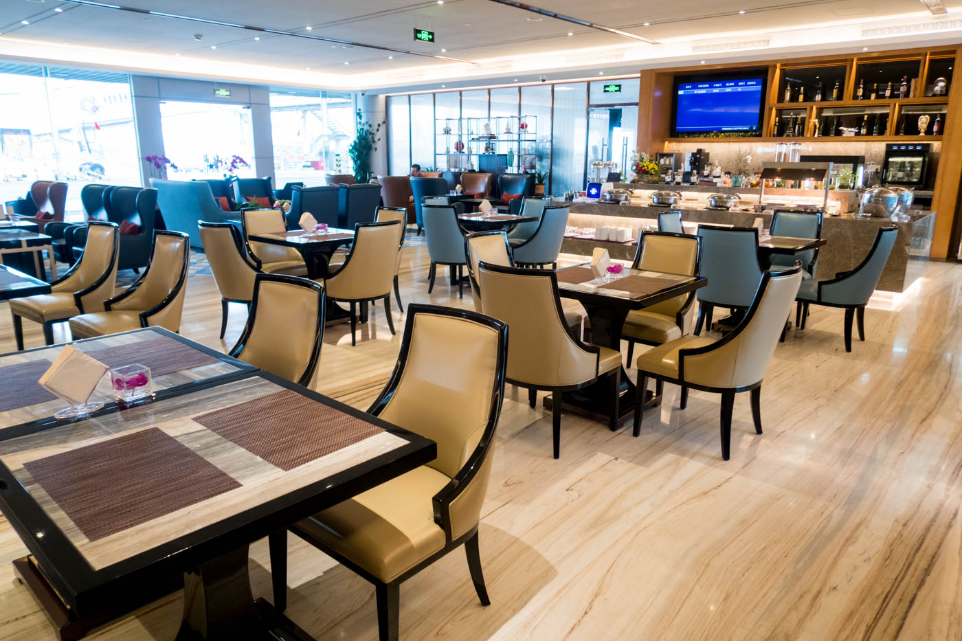 Xiamen Airlines Lounge Seating Area