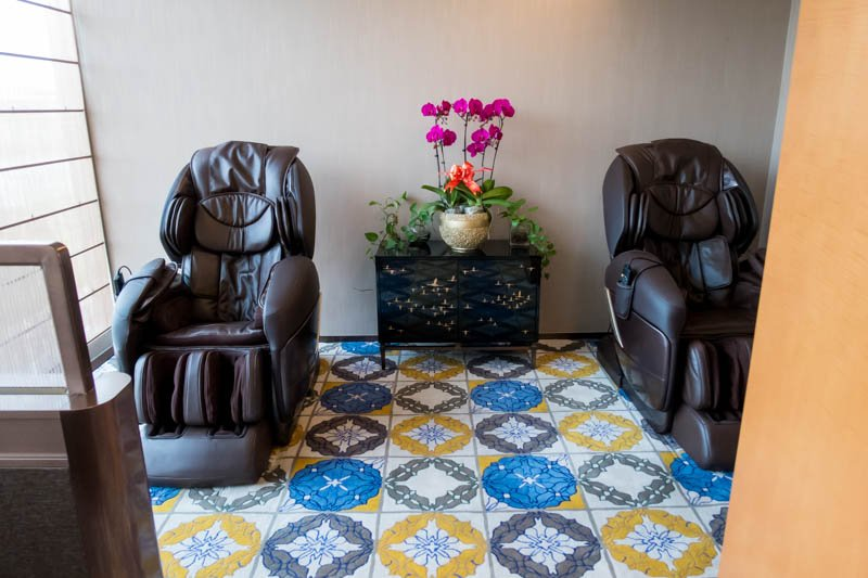 Xiamen Air Lounge Massage Chairs