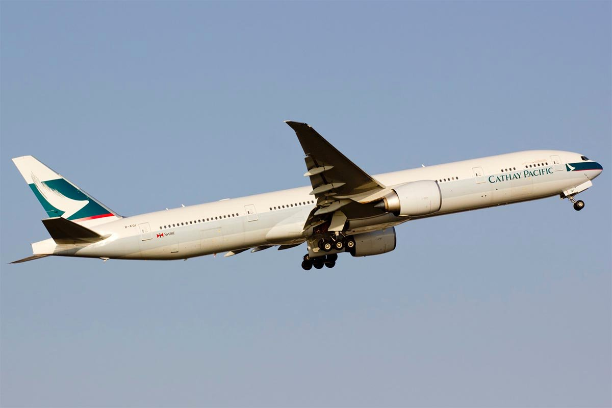 Cathay Pacific's Fifth Freedom Flight from Vancouver to New York