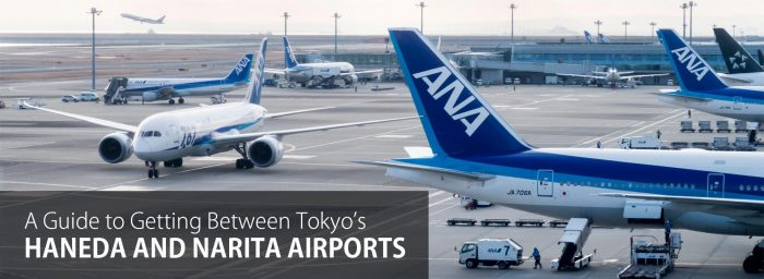 A Guide to Transferring Between Tokyo Haneda and Narita Airports