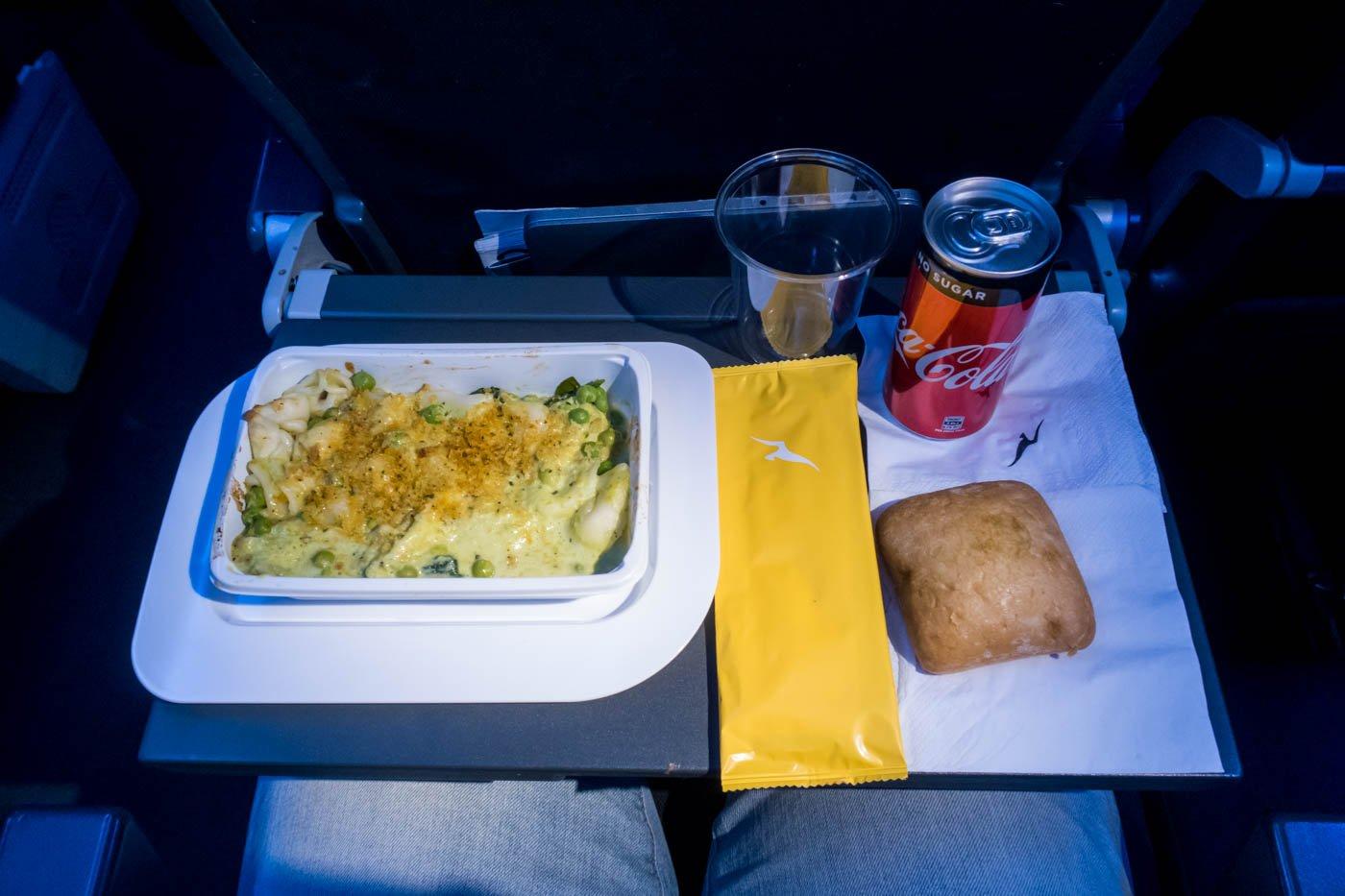 Qantas Trans-Tasman Meal
