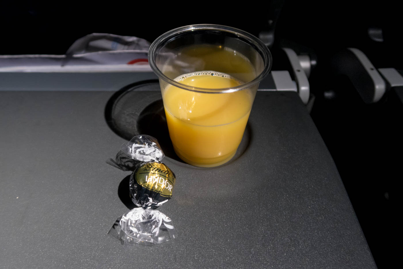 Chocolate and Orange Juice