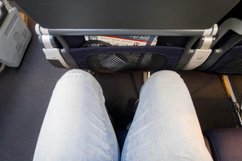 Qantas 737-800 Leg Room