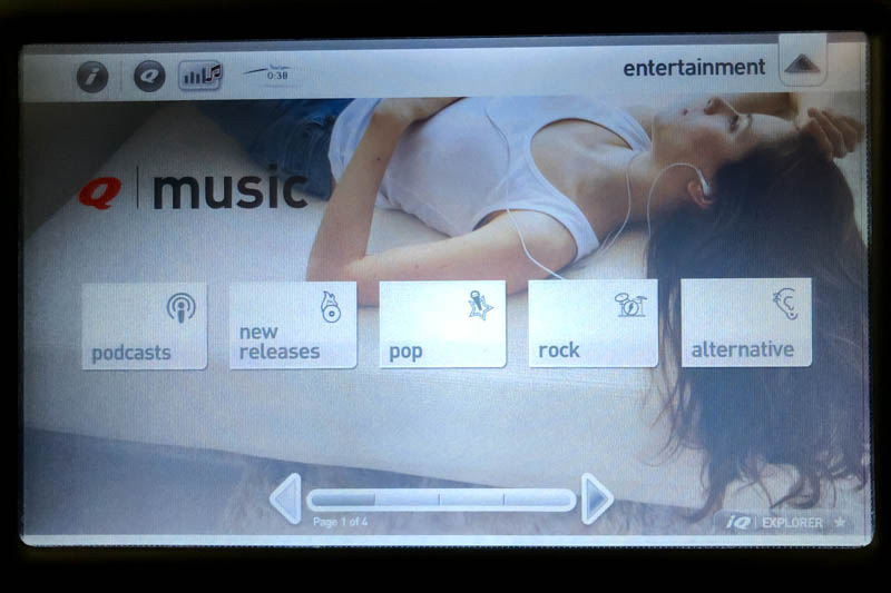 Music on Qantas