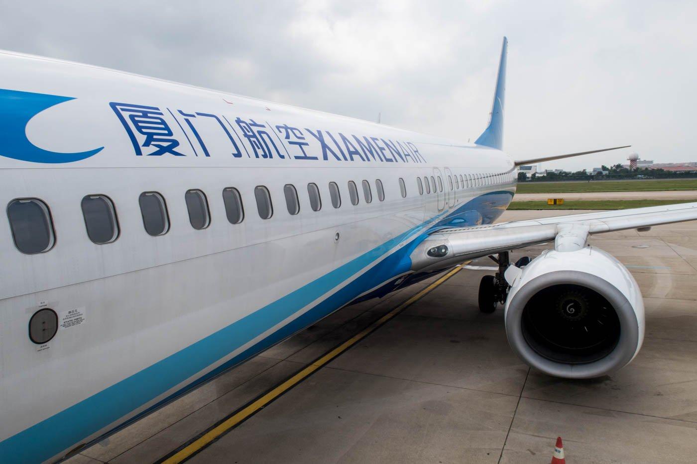 Xiamen Air Boeing 737-800