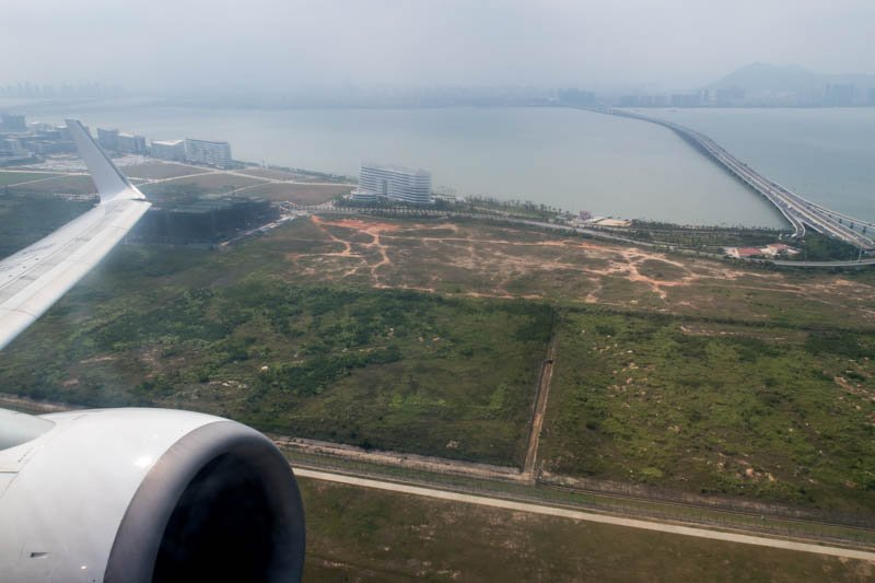 Taking Off from Xiamen