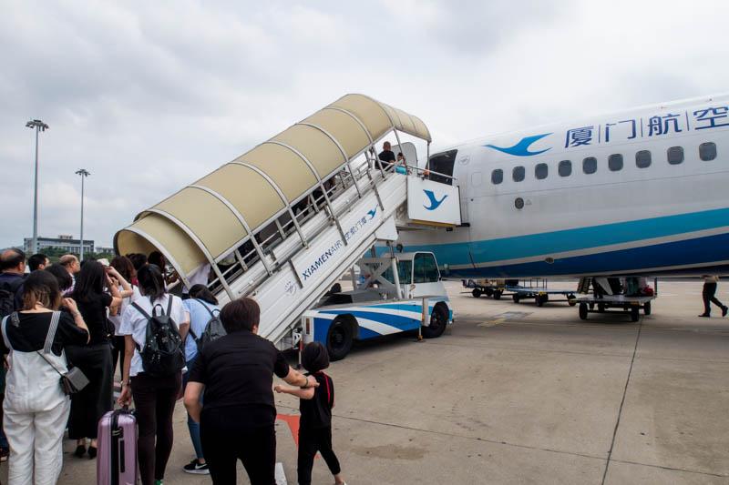 Xiamen Airlines Boeing 737-800