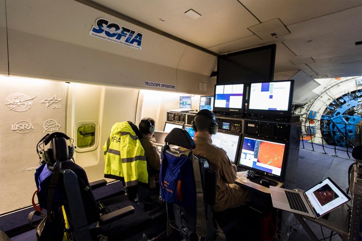 NASA SOFIA Telescope Operators