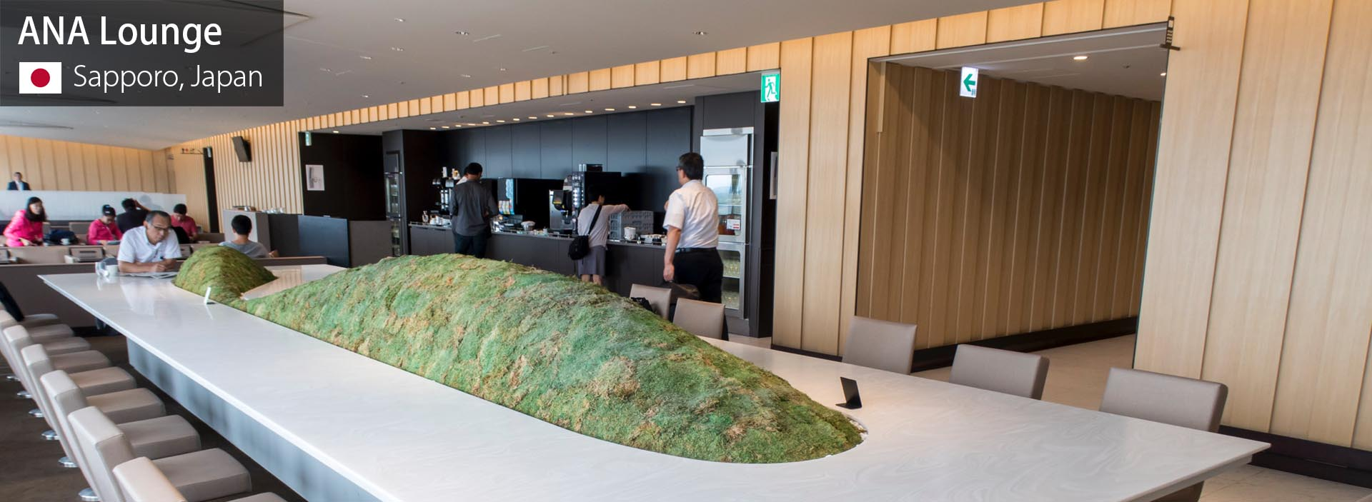 Lounge Review: ANA Lounge at Sapporo New Chitose