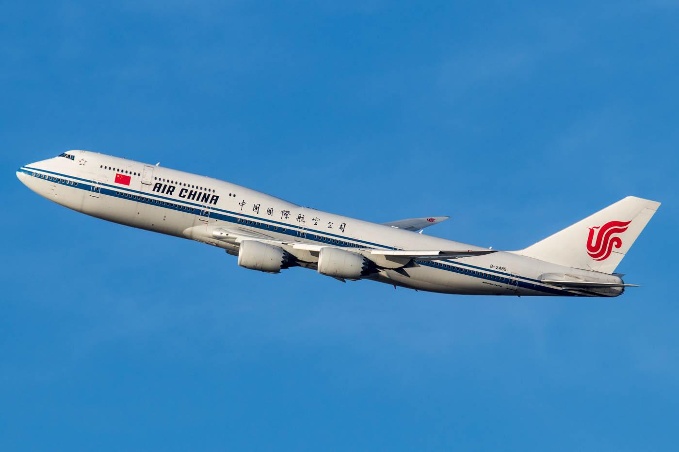 Air China Boeing 747-8 at New York JFK