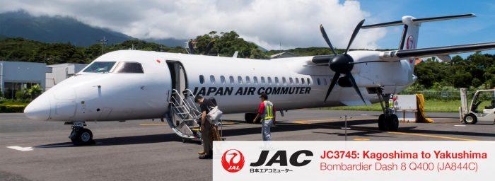 Flight Review: JAC Q400 Economy Class from Kagoshima to Yakushima