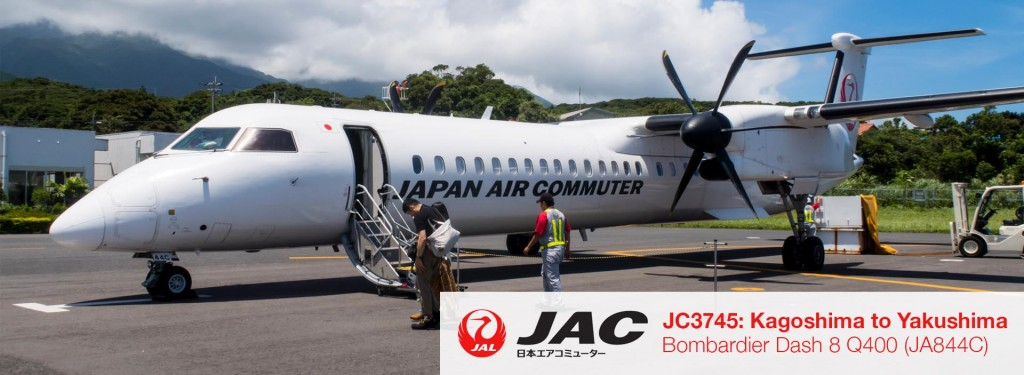 Flight Review: JAC Q400 Economy Class from Kagoshima to Yakushima