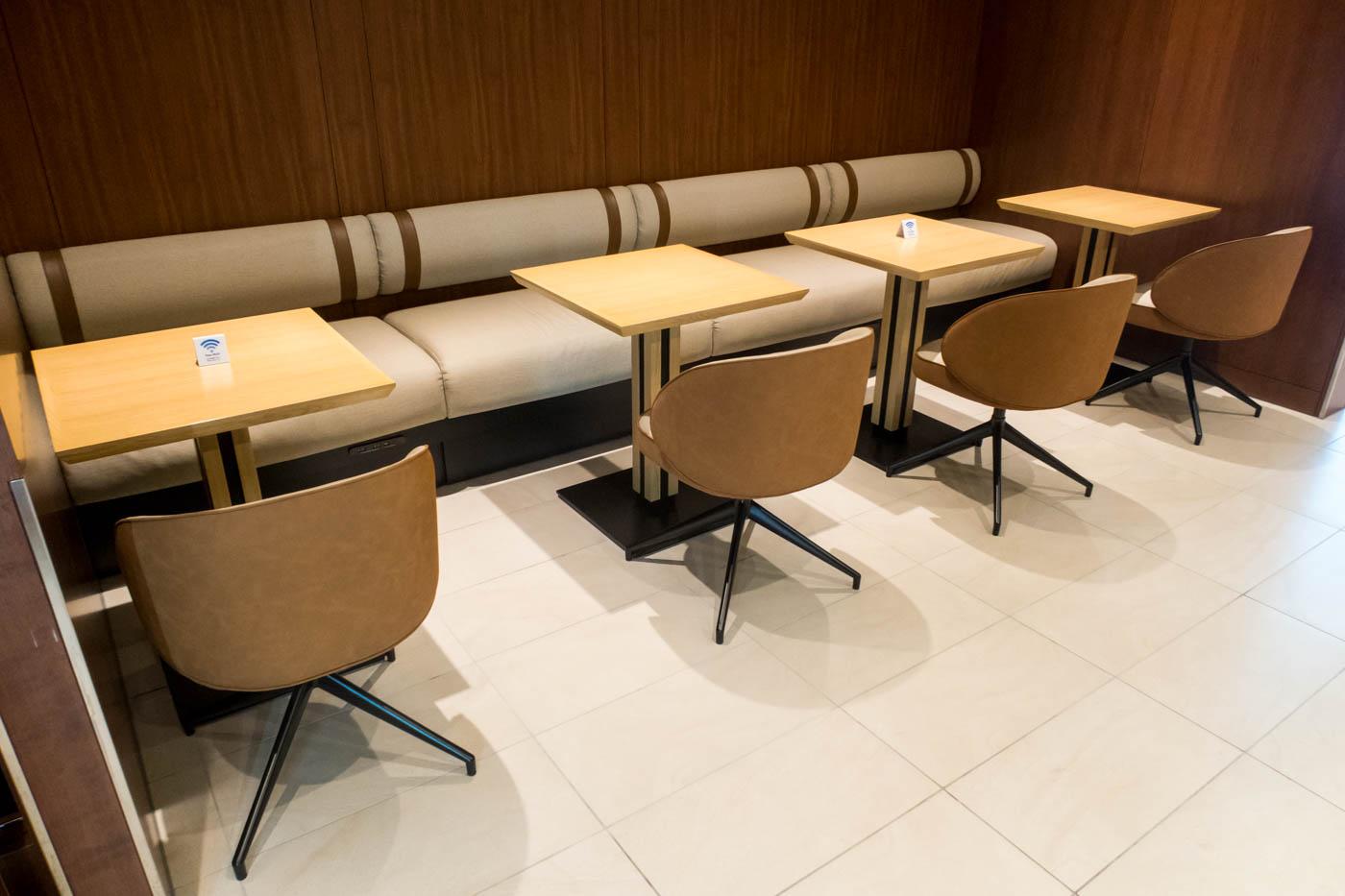 JAL Lounge Kagoshima Seating
