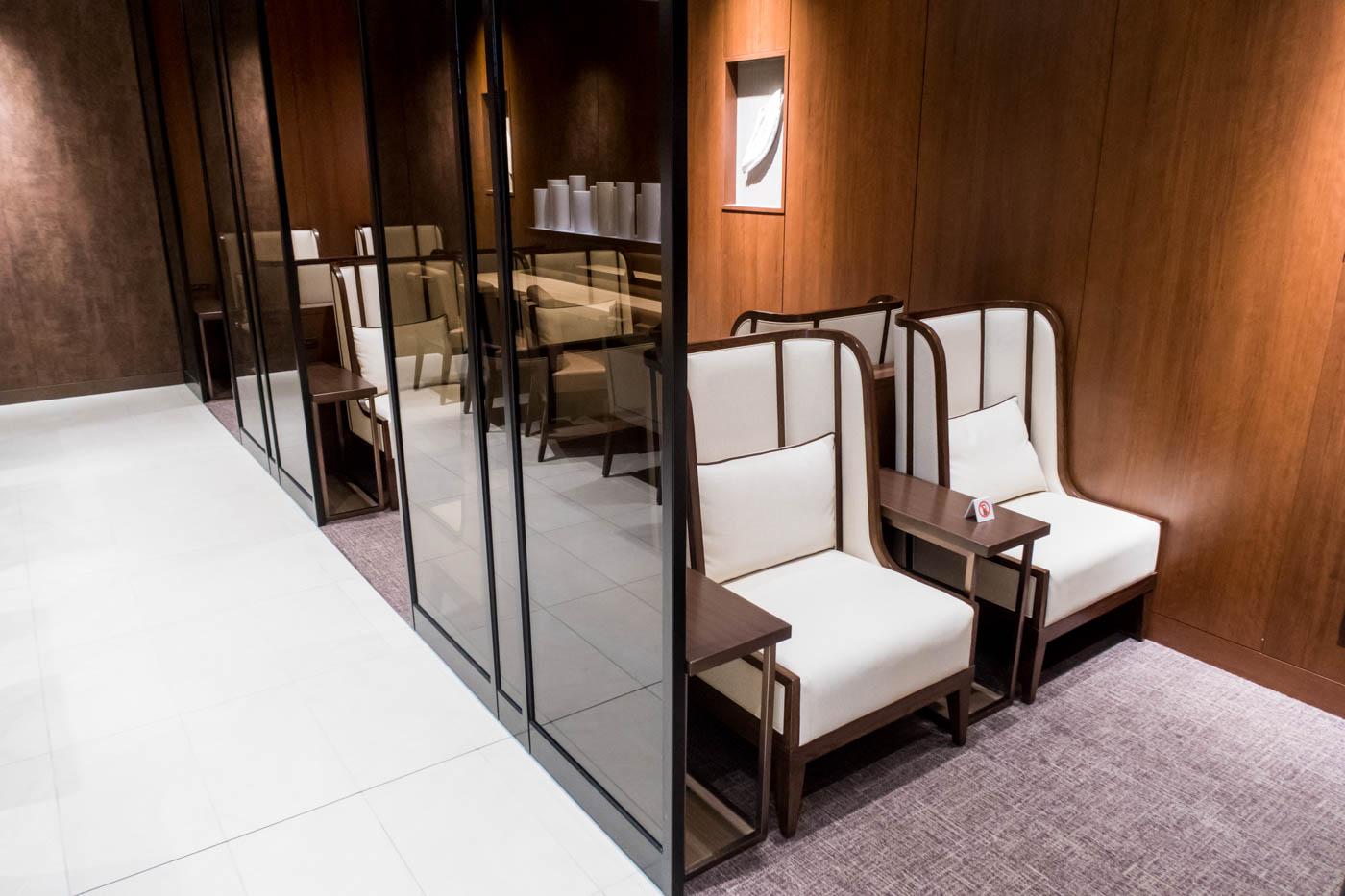 JAL Sakura Lounge Sofa Chairs